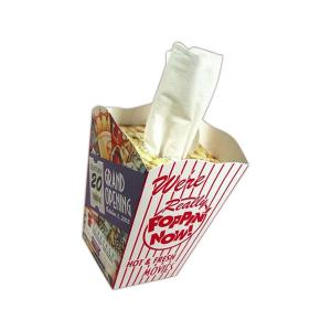 Popcorn Novelty Shaped Tissue Box