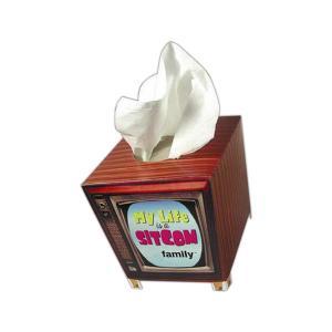 TV Shaped Tissue Box