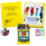 Kids 16 Colors Crayon Box