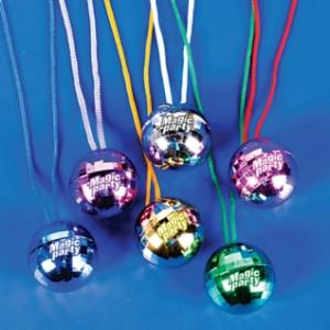 Rock the Night! Disco Ball Necklace