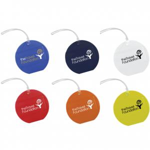 Round The World Travel Luggage Tag