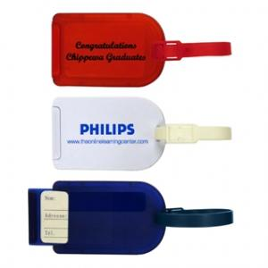 Slider Luggage Tag