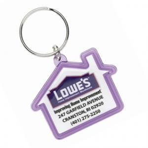 House Shaped Acrylic Key Tag