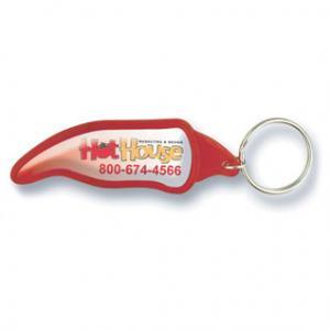 Chili Pepper Shaped Acrylic Key Tag