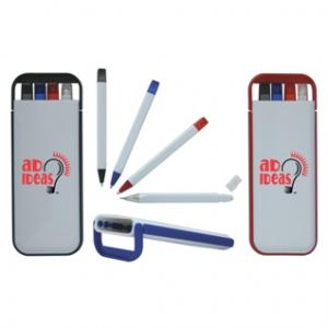 Writers Pro Pen and Pencil Set with Case