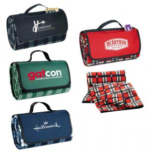 Roll up Picnic Blanket with Handle