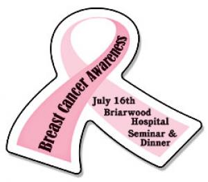 Awareness Ribbon Shaped Magnet