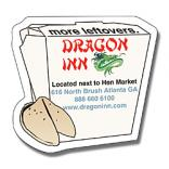 Chinese Food Box Shaped Magnet