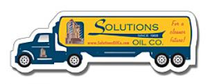 Oil Truck Shaped Magnet