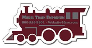 Train Engine Shaped Magnet