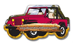 Jeep Shaped Magnet