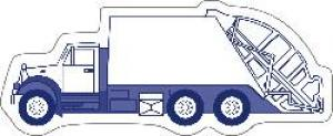 Garbage Truck Shaped Magnet