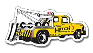 Tow Truck Shaped Magnet