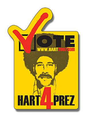 Vote Theme Shaped Magnet