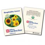 Organic Sunflower 'Autumn Beauty' Floral Seed Packet