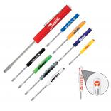 Promotional Fixed Blade Pocket Screwdriver Custom Tops and Blades