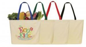 8 oz. Eco-Friendly Cotton Tote/Beach Bag