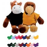 Stuffed Animal Mascot Shape with Imprinted T Shirt