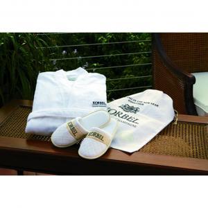 Velour Robe & Slippers Gift Set
