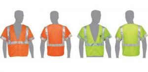 Class 2 Compliant Safety Vest with Sleeves