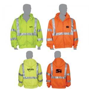 Class 3 Compliant Safety Fleece Sweatshirt