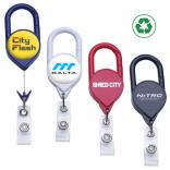 Deluxe Carabiner Badge Reel