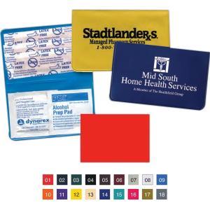 Vinyl Pocket First Aid Kit