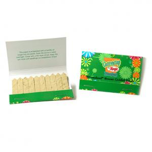 Seed Paper Match Book