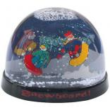 Plastic Snow Globe with Acrylic Insert