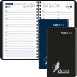 Ready Reference Ruled Daily Desk Planner with Spiral