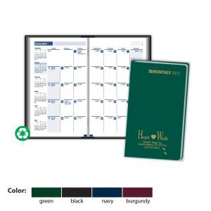 Ready Reference Monthly Planner in Vinyl Jacket
