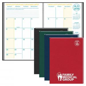 Ready Reference Academic Monthly Planner with Morocco Cover - 2013