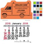 Ambulance Shaped Self-Adhesive Calendar