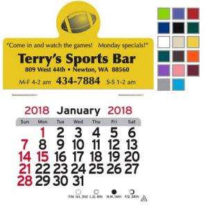 Football Themed Self-Adhesive Calendar