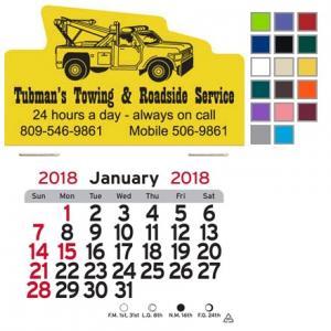 Tow Truck Self-Adhesive Calendar