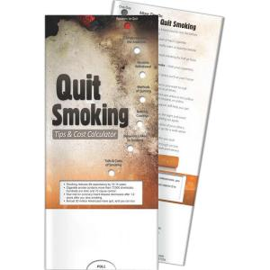 Stop Smoking Pocket Slide Chart