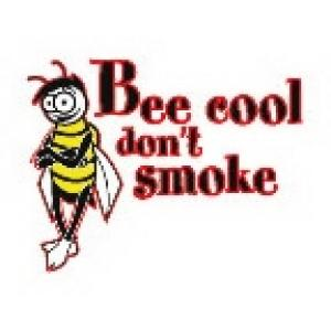 Next bags for school - Promotional Bee Cool Don T Smoke Temporary Tattoo
