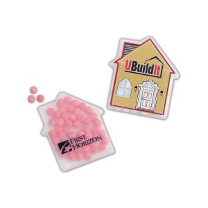 Frosted House Shaped Mints