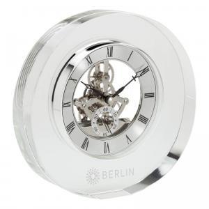 Illusion Elegant Floating Crystal Clock
