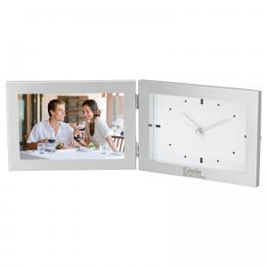 "Horizontal 6"" x 4"" Frame & Clock"