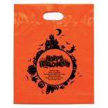 Orange Happy Halloween Candy Bag