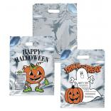 Silver Reflective Trick-or-Treat Bags