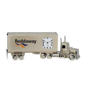 Semi-Truck Metal Clock