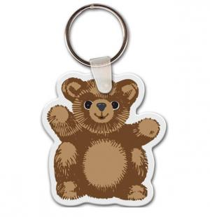 Teddy Bear Vinyl Key Chain