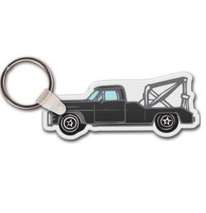 Tow Truck Vinyl Key Chain