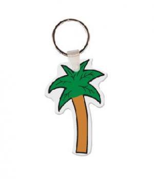 Palm Tree Soft Vinyl Keychain