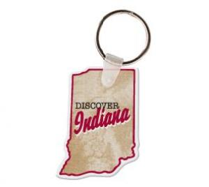 Indiana Soft Vinyl Key Tag