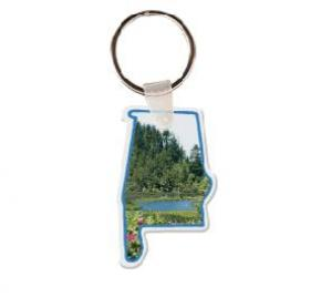 Alabama Soft Vinyl Key Tag