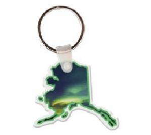 Alaska Soft Vinyl Key Tag