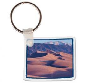 Colorado Soft Vinyl Key Tag